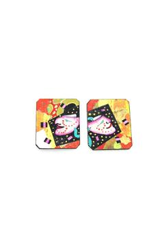 Shoptiques Product: Mask Earrings Clip On