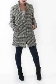 Scotch and Soda Margaret Houndstooth Jacket - Product Mini Image