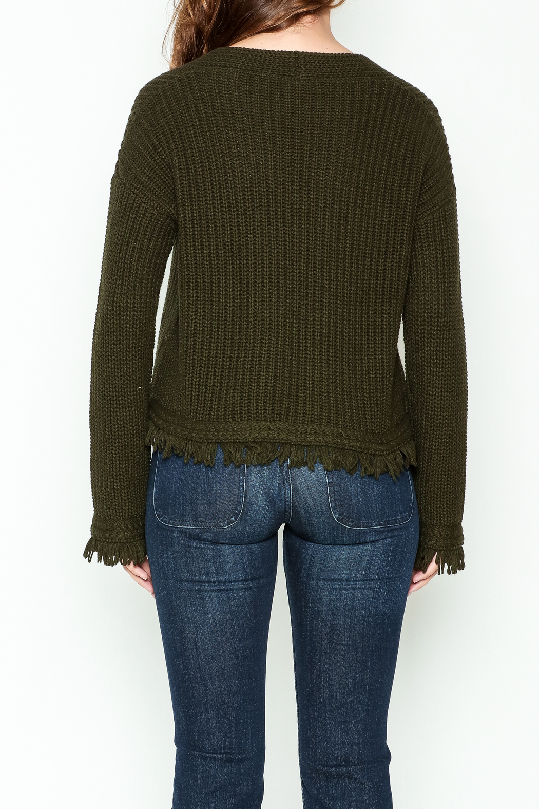 Margaret O'Leary Maeve Pullover Top - Back Cropped Image