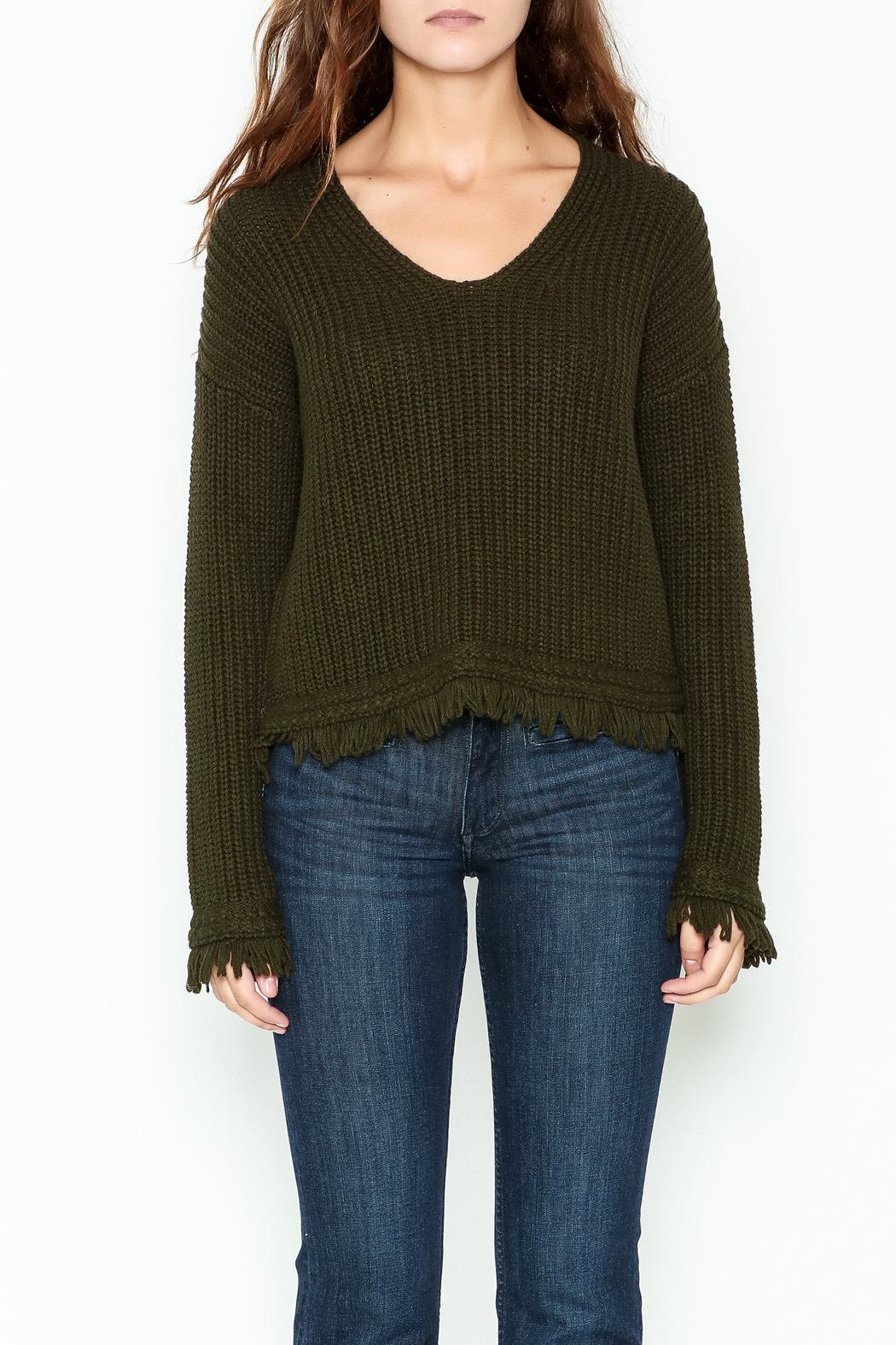 Margaret O'Leary Maeve Pullover Top - Front Full Image