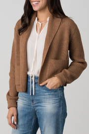 Margaret O'Leary MARGARET O'LEARY SHAWL JACKET - Front cropped