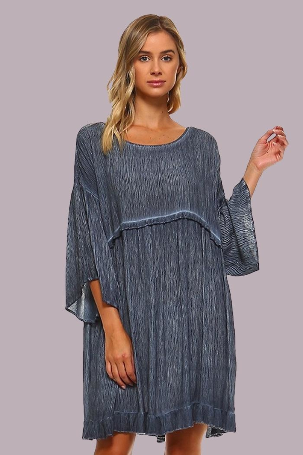 People Outfitter Margaret Summer Dress - Front Full Image