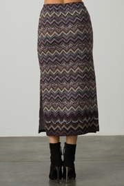 Margaret O'Leary A-Line Slit Skirt - Front cropped
