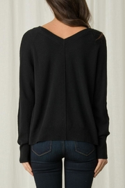 Margaret O'Leary Alina Double-Vee Pullover - Front full body