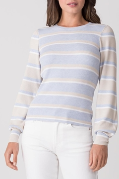 Shoptiques Product: Allie Striped Crew