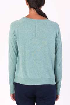 Margaret O'Leary Annie Crew Neck Sweater - Alternate List Image