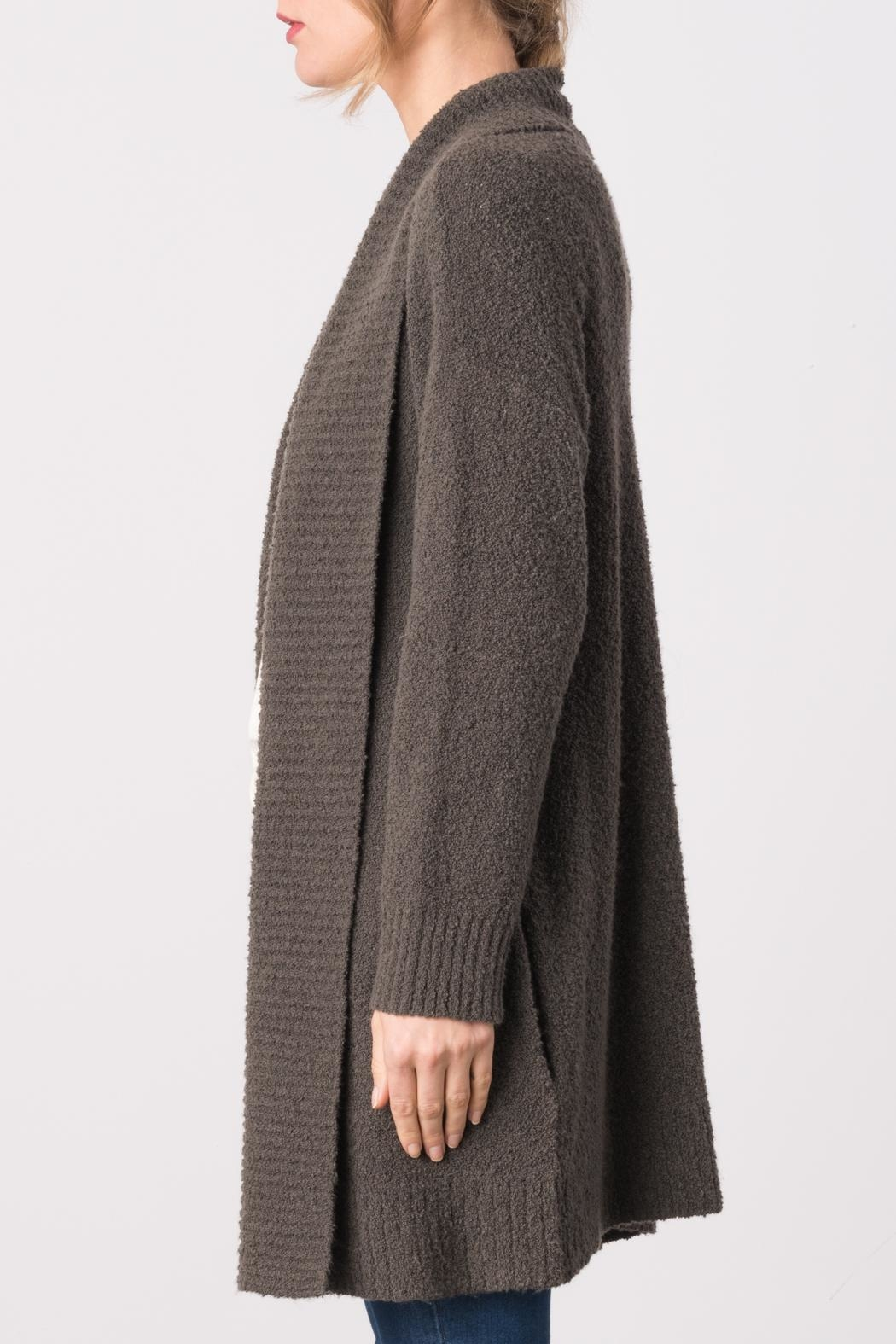 Margaret O'Leary Bianca Cardigan - Front Full Image