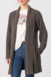 Margaret O'Leary Bianca Cardigan - Front cropped