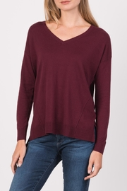 Margaret O'Leary Boyfriend V Neck  Sweatshirt - Product Mini Image