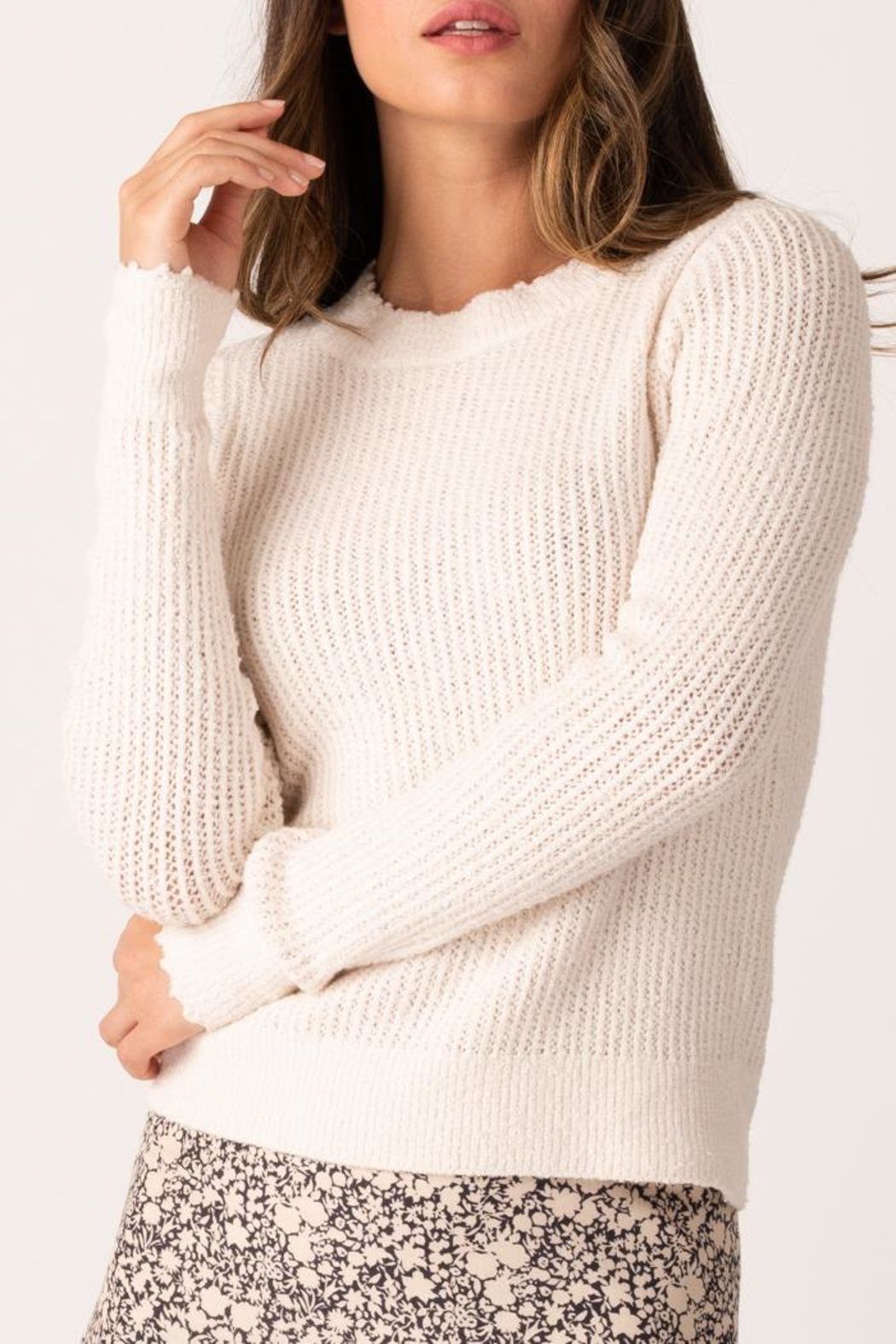 Margaret O'Leary Cheree Pullover - Main Image