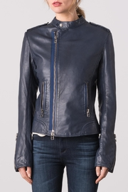Margaret O'Leary Chloe Leather Jacket - Front cropped