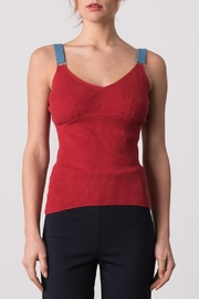 Margaret O'Leary Ciara Cami Top - Front cropped