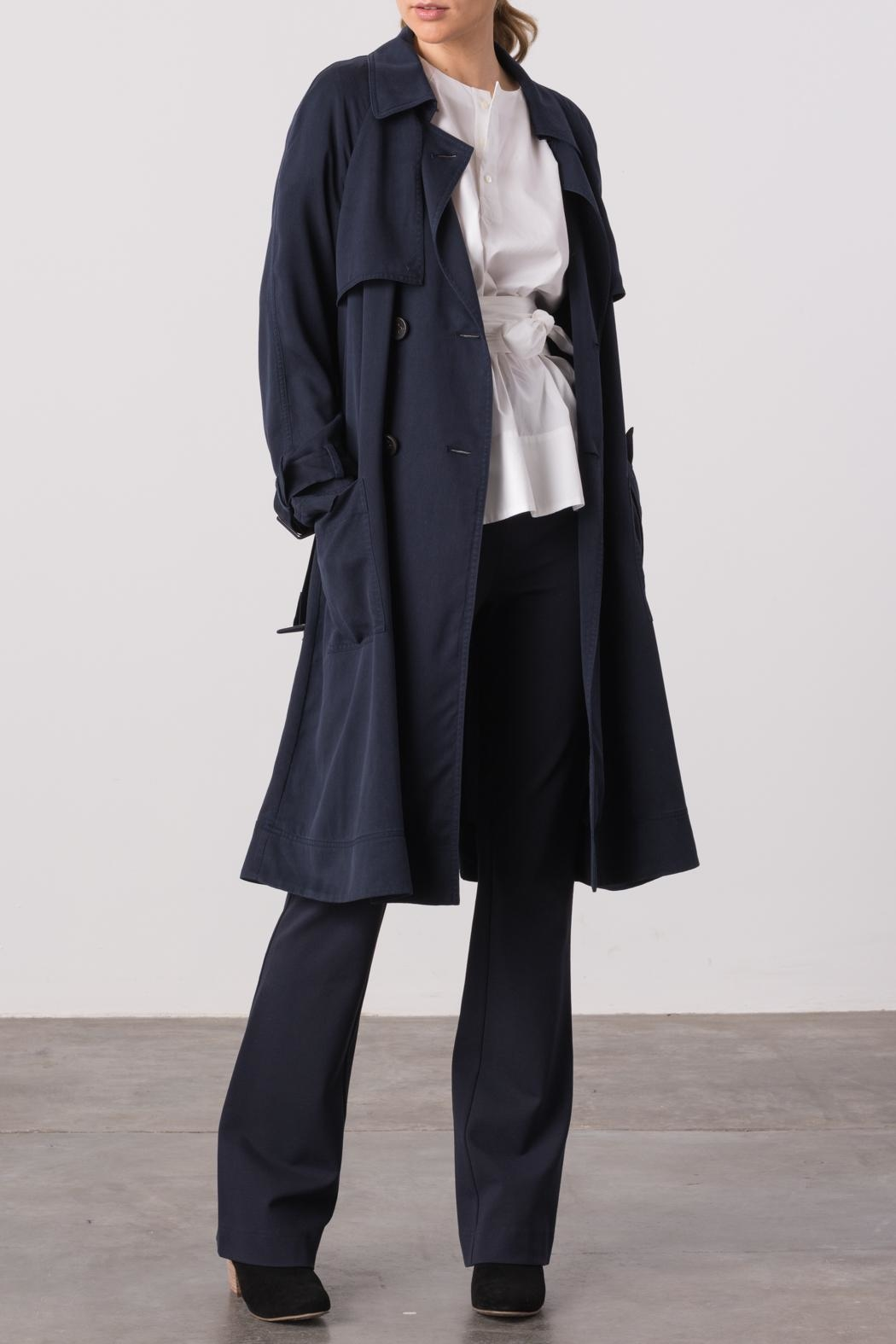 Margaret O'Leary Cindy Trench Coat - Front Cropped Image