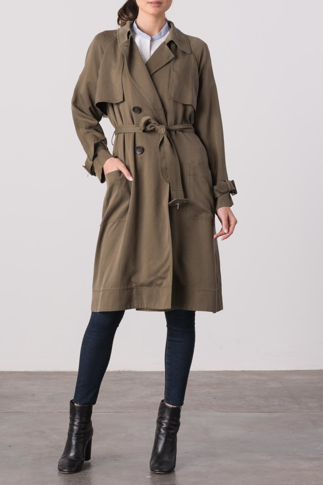 Margaret O'Leary Cindy Trench Coat - Main Image