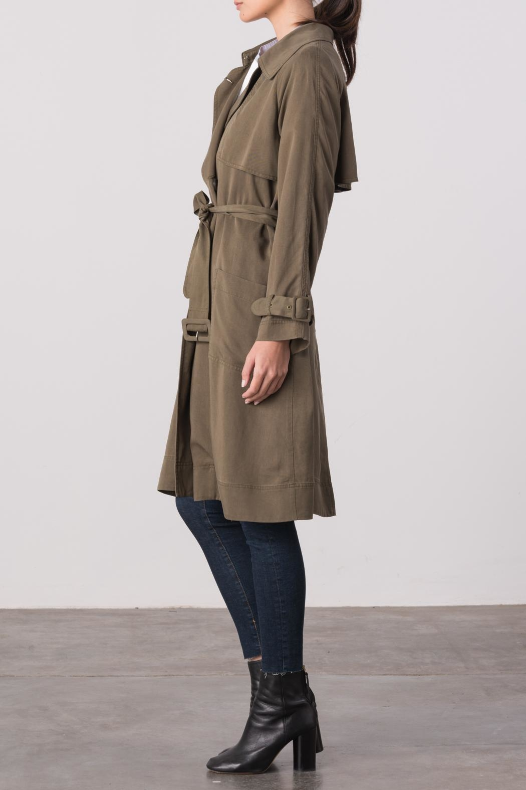 Margaret O'Leary Cindy Trench Coat - Front Full Image