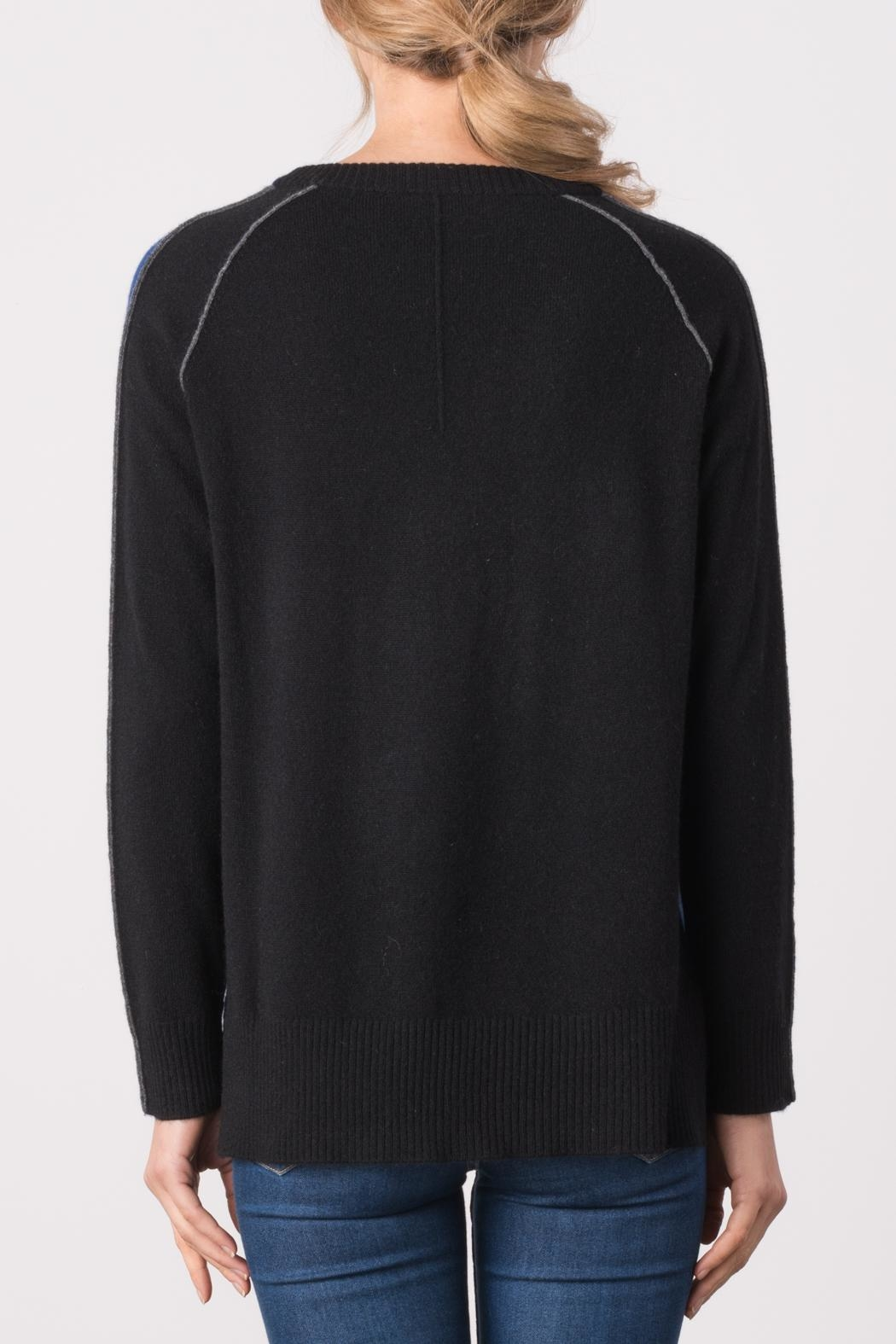 Margaret O'Leary Color Block Sweater - Side Cropped Image