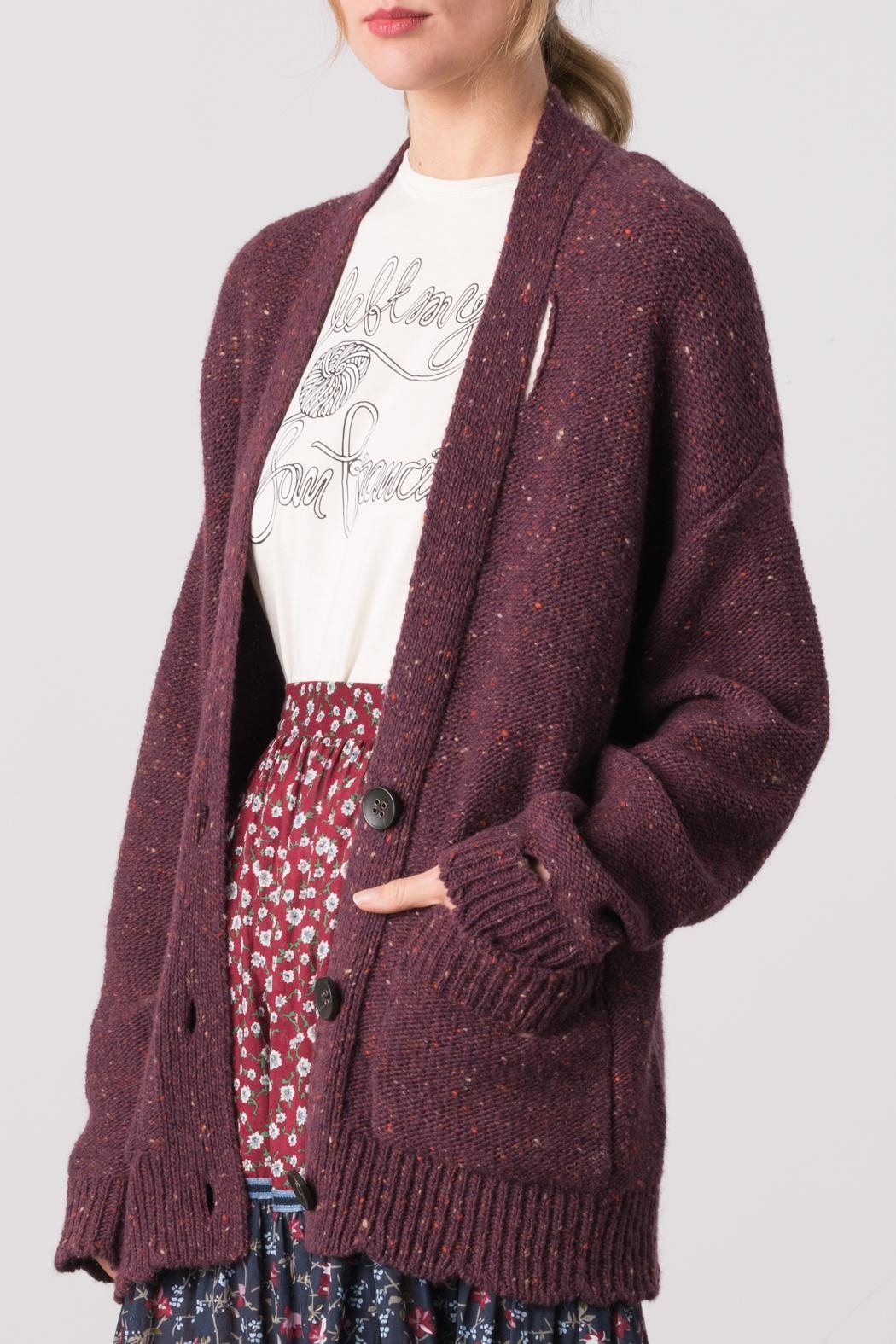 5fc1d2dbcf Margaret O Leary Connie Grunge Cardigan from Denver — Shoptiques