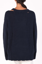 Margaret O'Leary Cotton Grunge Sweater - Other