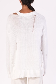 Margaret O'Leary Cotton Grunge Sweater - Side cropped