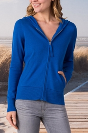 Margaret O'Leary Cotton Zip-Up Hoodie - Product Mini Image