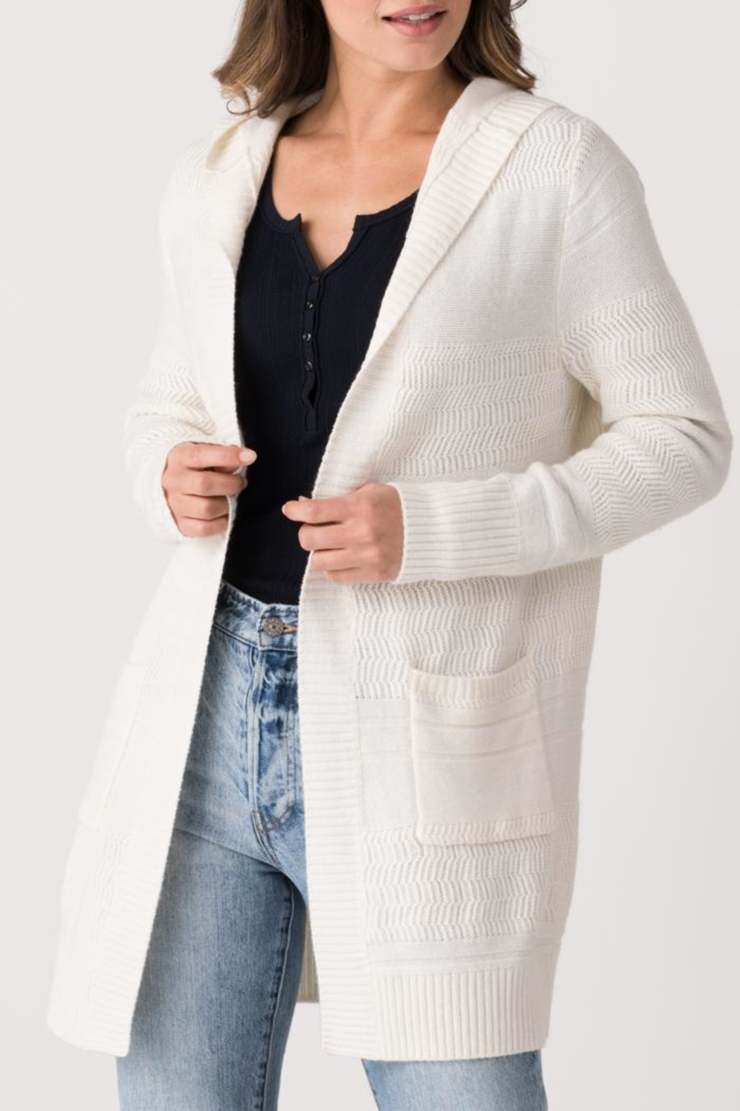 Margaret O'Leary Cydney Cardigan - Front Cropped Image