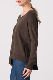 Margaret O'Leary Exie Scoop Pullover - Back cropped