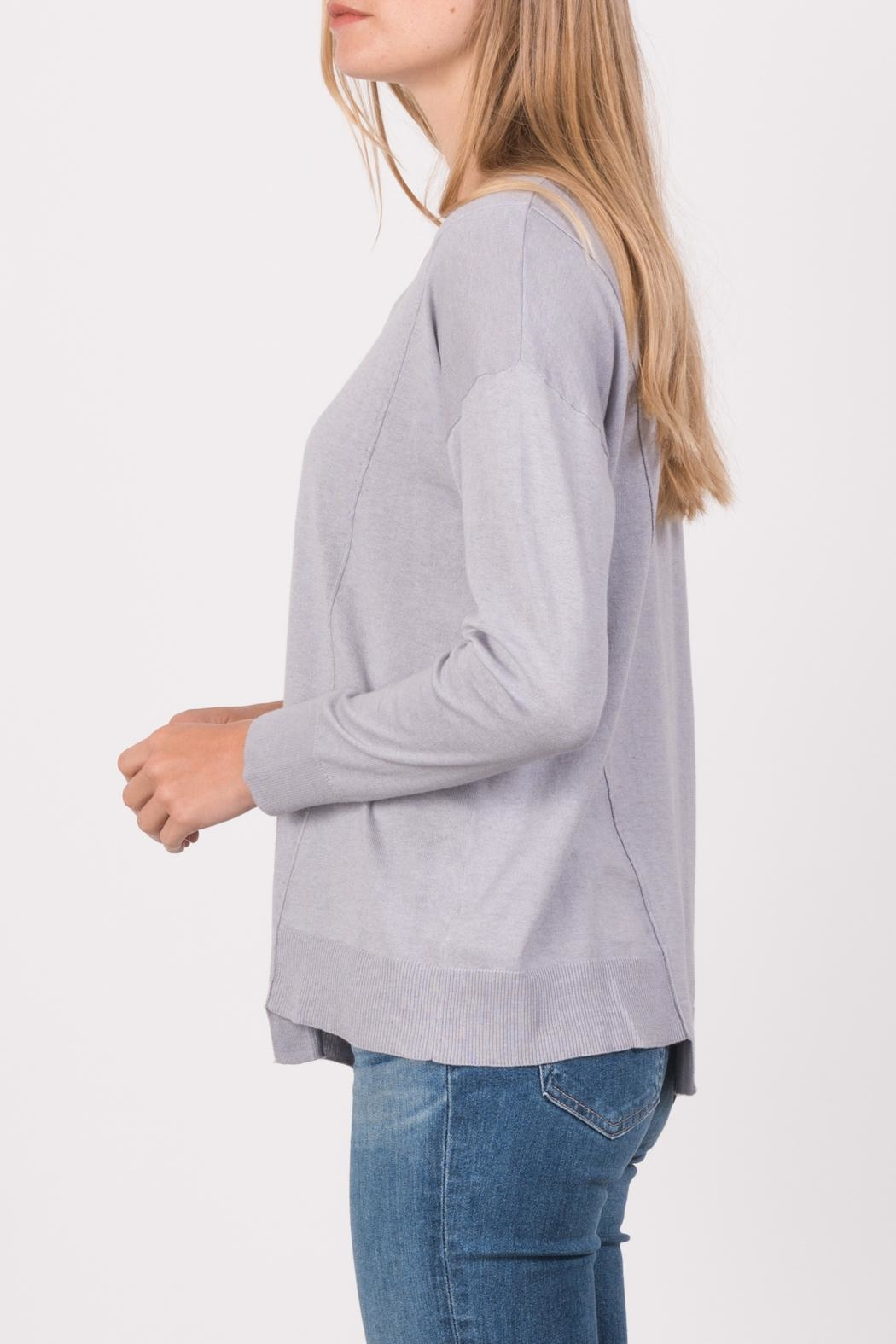 Margaret O'Leary Exie Scoop Pullover - Front Full Image