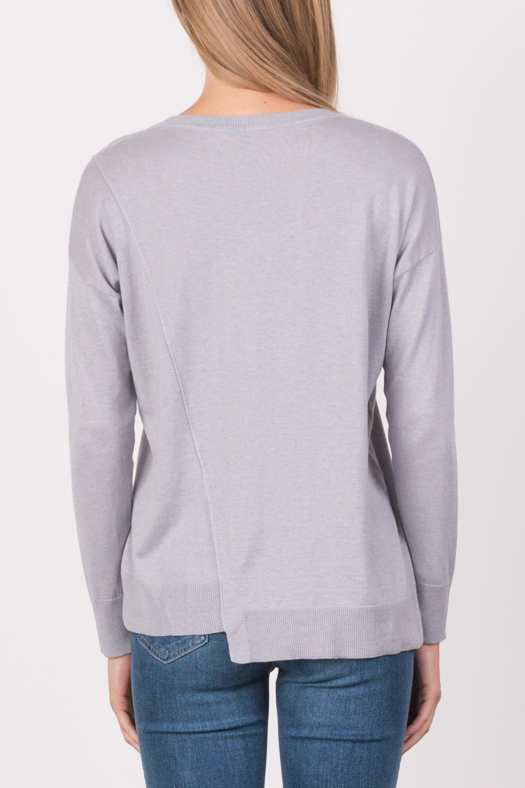 Margaret O'Leary Exie Scoop Pullover - Side Cropped Image