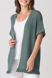 Margaret O'Leary Fringe Throw-On - Front cropped