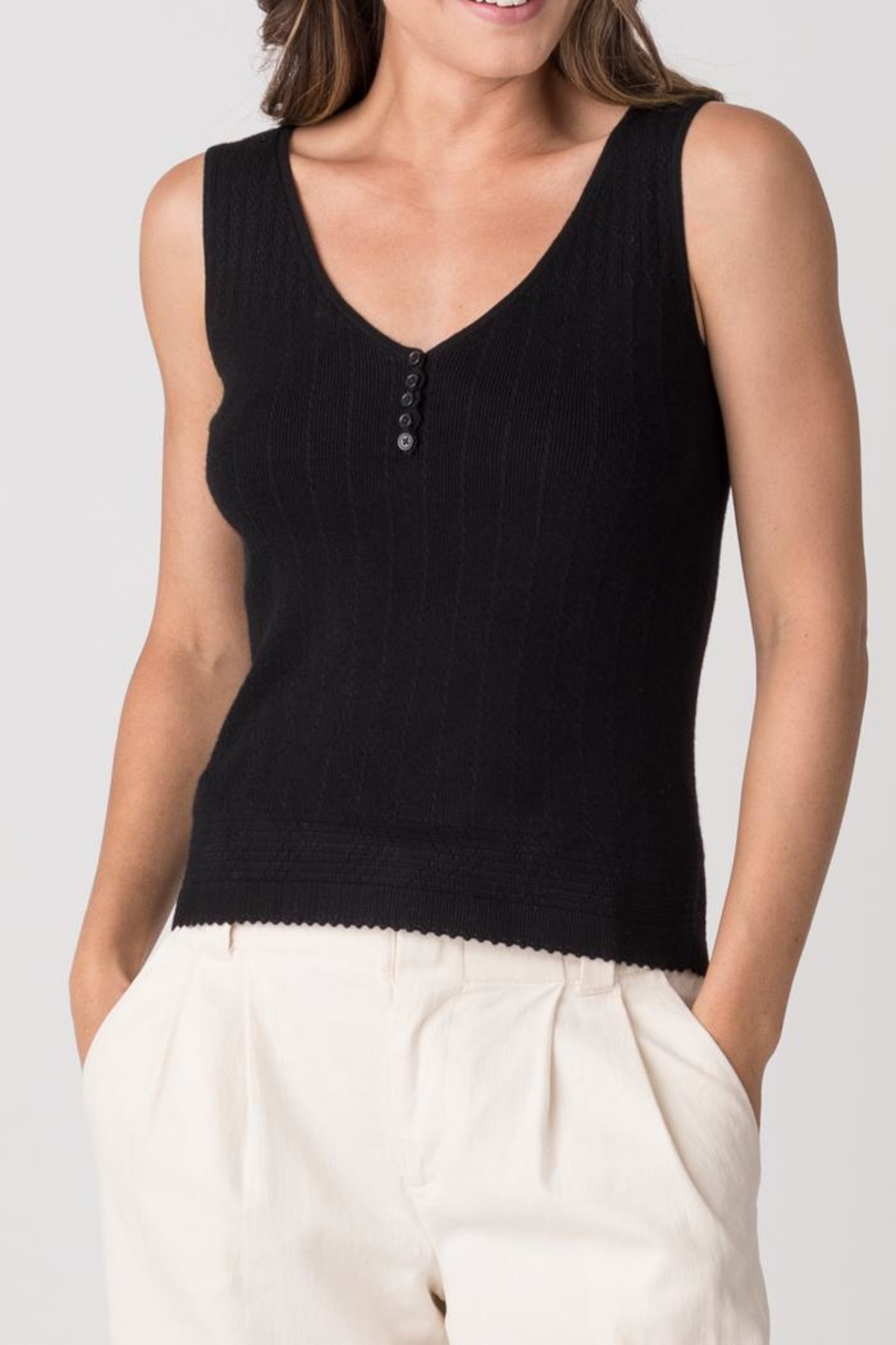 Margaret O'Leary Gibson Tank - Front Cropped Image