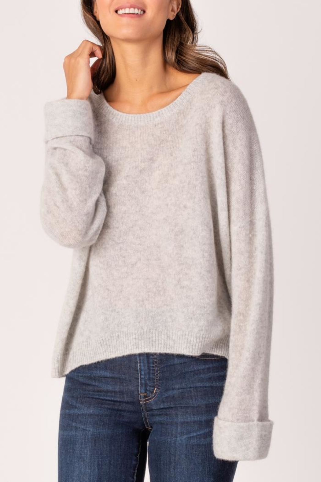 Margaret O'Leary Grace Pullover - Front Cropped Image