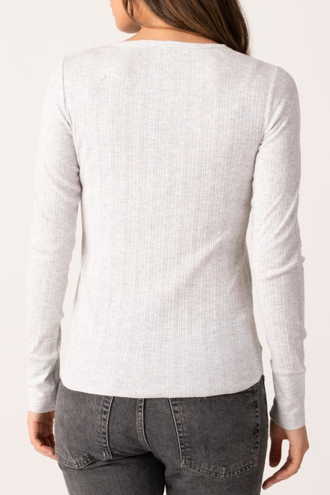 Margaret O'Leary Heirloom Henley - Side Cropped Image