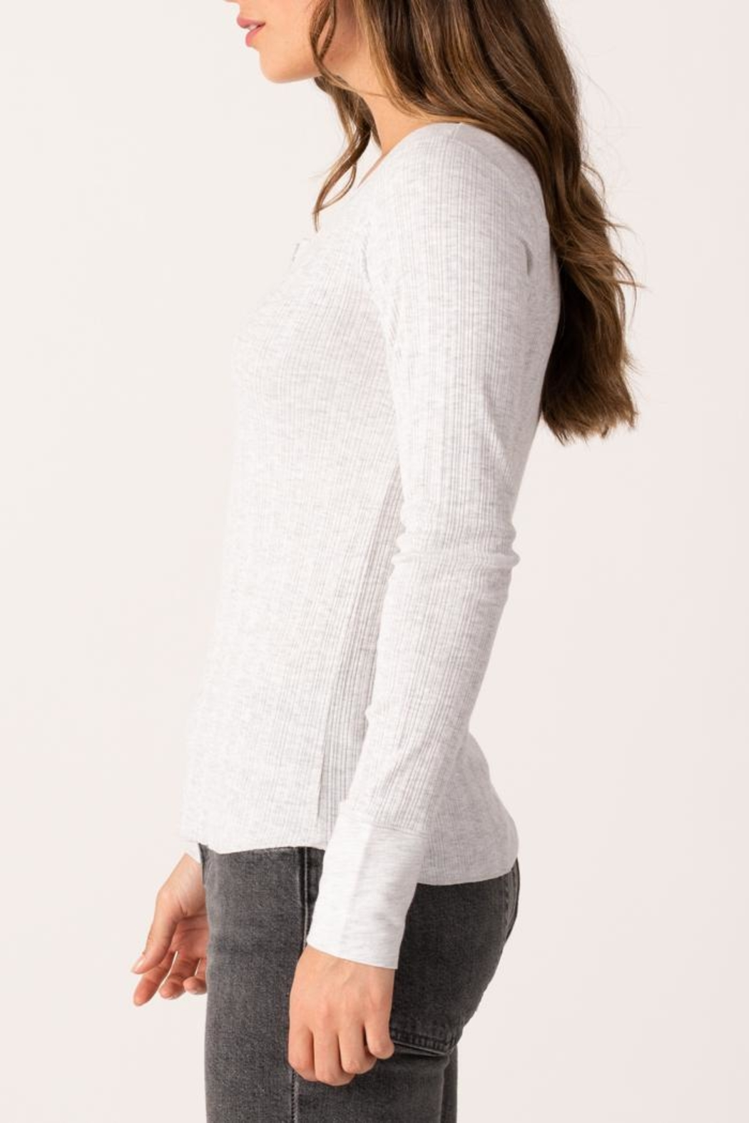 Margaret O'Leary Heirloom Henley - Front Full Image