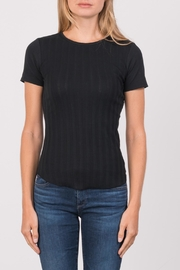 Margaret O'Leary Heirloom Short Sleeve Crew - Front cropped