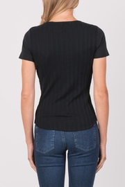 Margaret O'Leary Heirloom Short Sleeve Crew - Side cropped