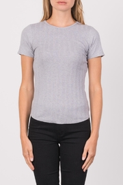 Margaret O'Leary Heirloom Short Sleeve Crew - Product Mini Image