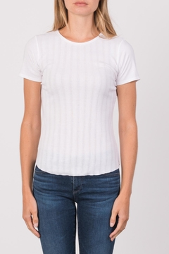 Margaret O'Leary Heirloom Short Sleeve Crew - Product List Image