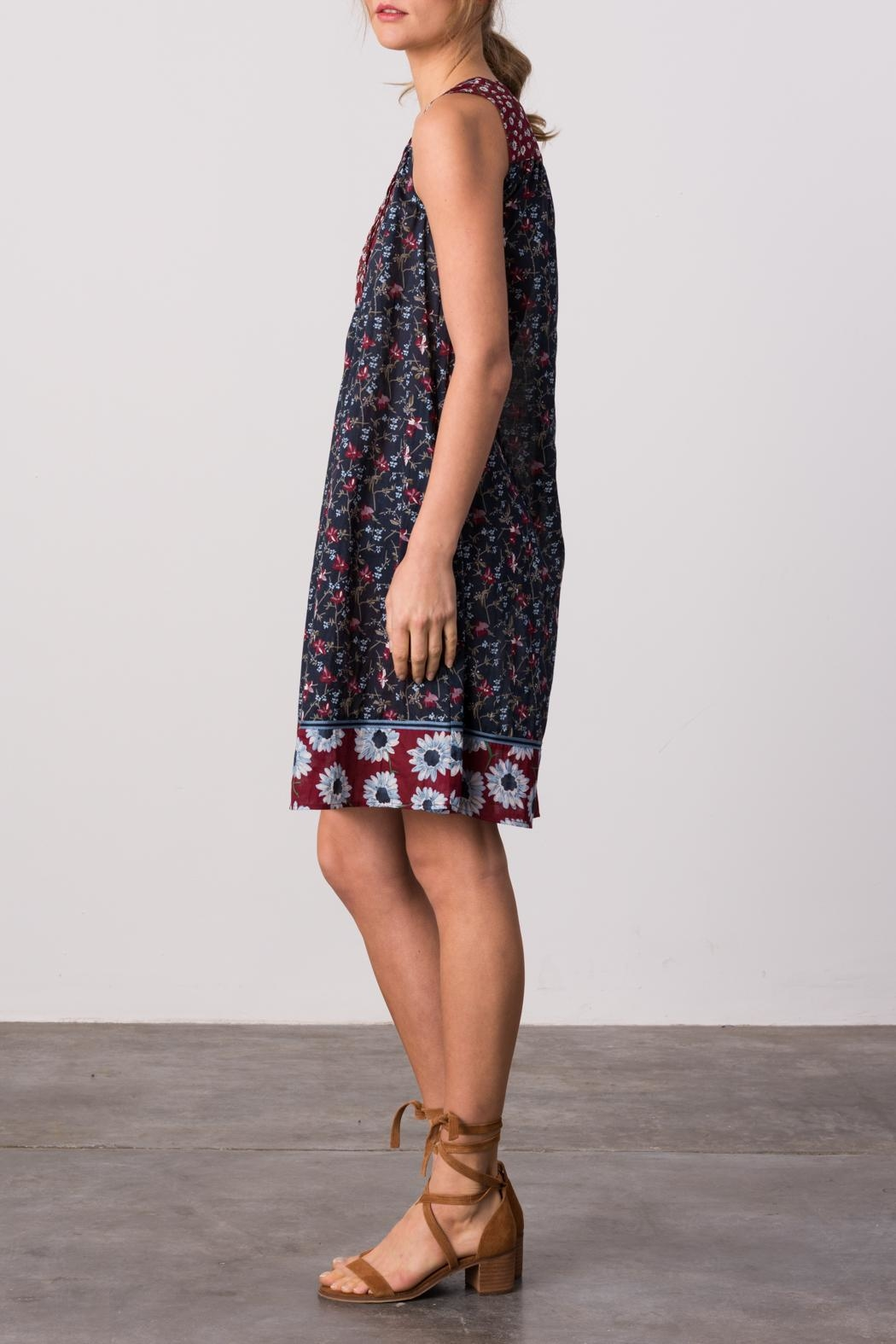 Margaret O'Leary Indian Summer Dress - Front Full Image