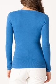 Margaret O'Leary Jane Ribbed Crew - Side cropped