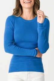 Margaret O'Leary Jane Ribbed Crew - Front cropped