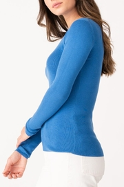Margaret O'Leary Jane Ribbed Crew - Front full body