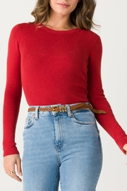 Margaret O'Leary Jane Ribbed Crew - Product Mini Image