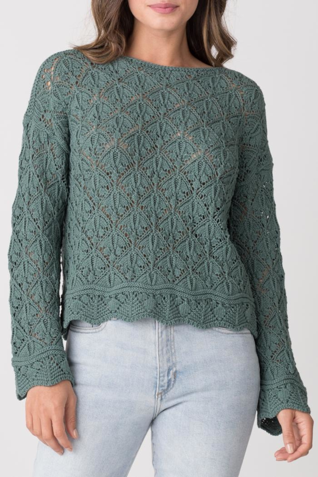 Margaret O'Leary Kimmy Boatneck - Front Cropped Image