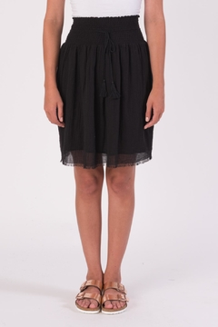 Shoptiques Product: Knee Smocked Skirt