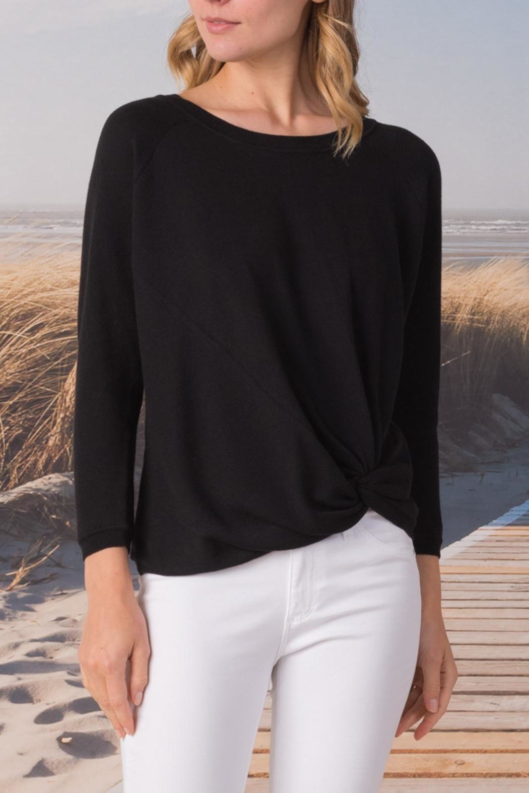Margaret O'Leary Knotted Sweatshirt - Main Image