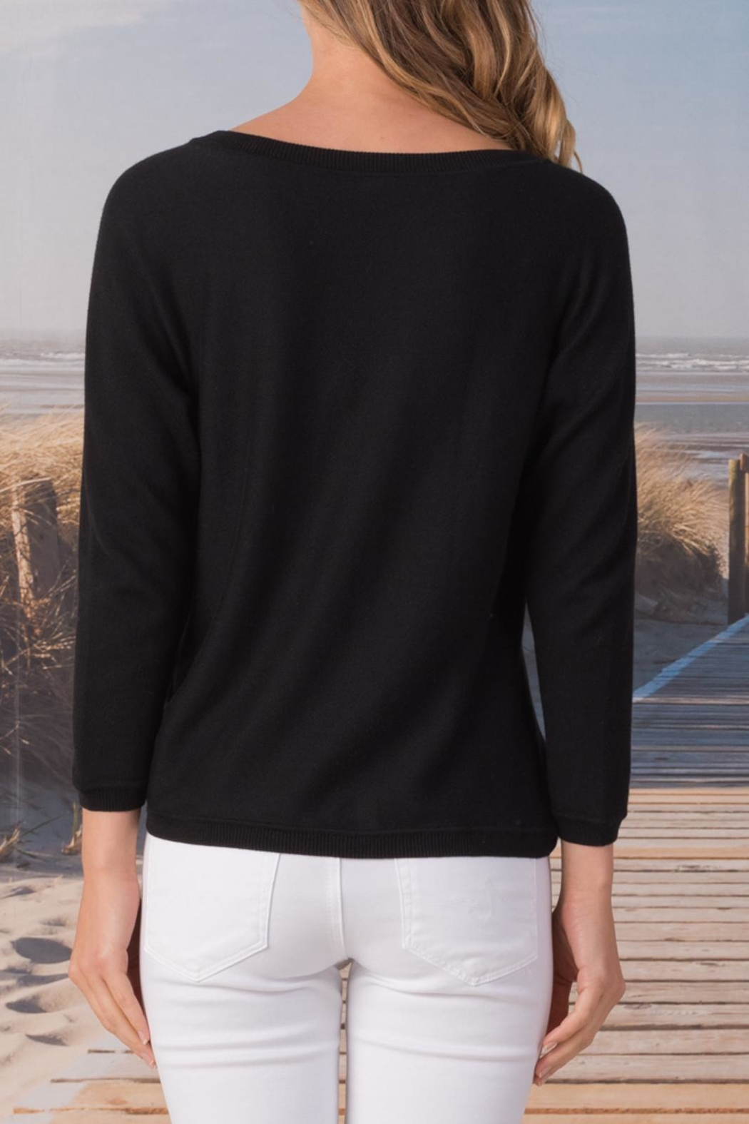 Margaret O'Leary Knotted Sweatshirt - Side Cropped Image