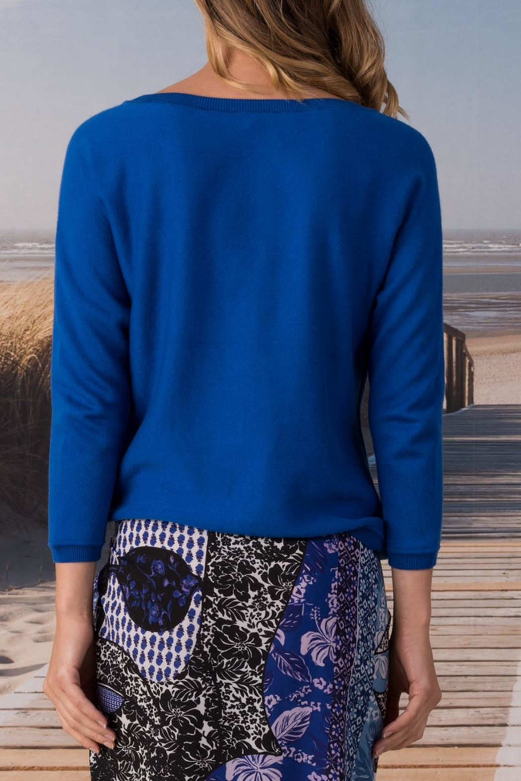 Margaret O'Leary Knotted Sweatshirt - Front Full Image