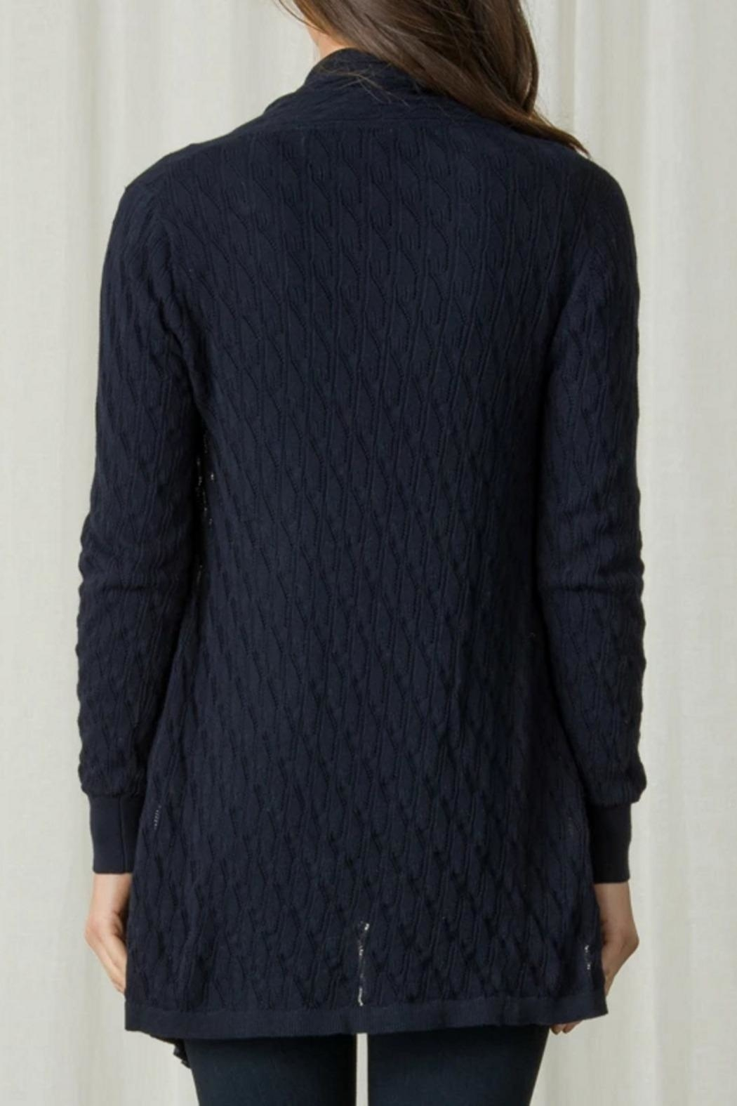 Margaret O'Leary Lace Stitch Duster - Side Cropped Image