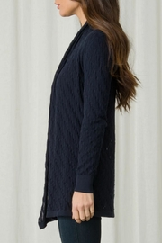 Margaret O'Leary Lace Stitch Duster - Front full body
