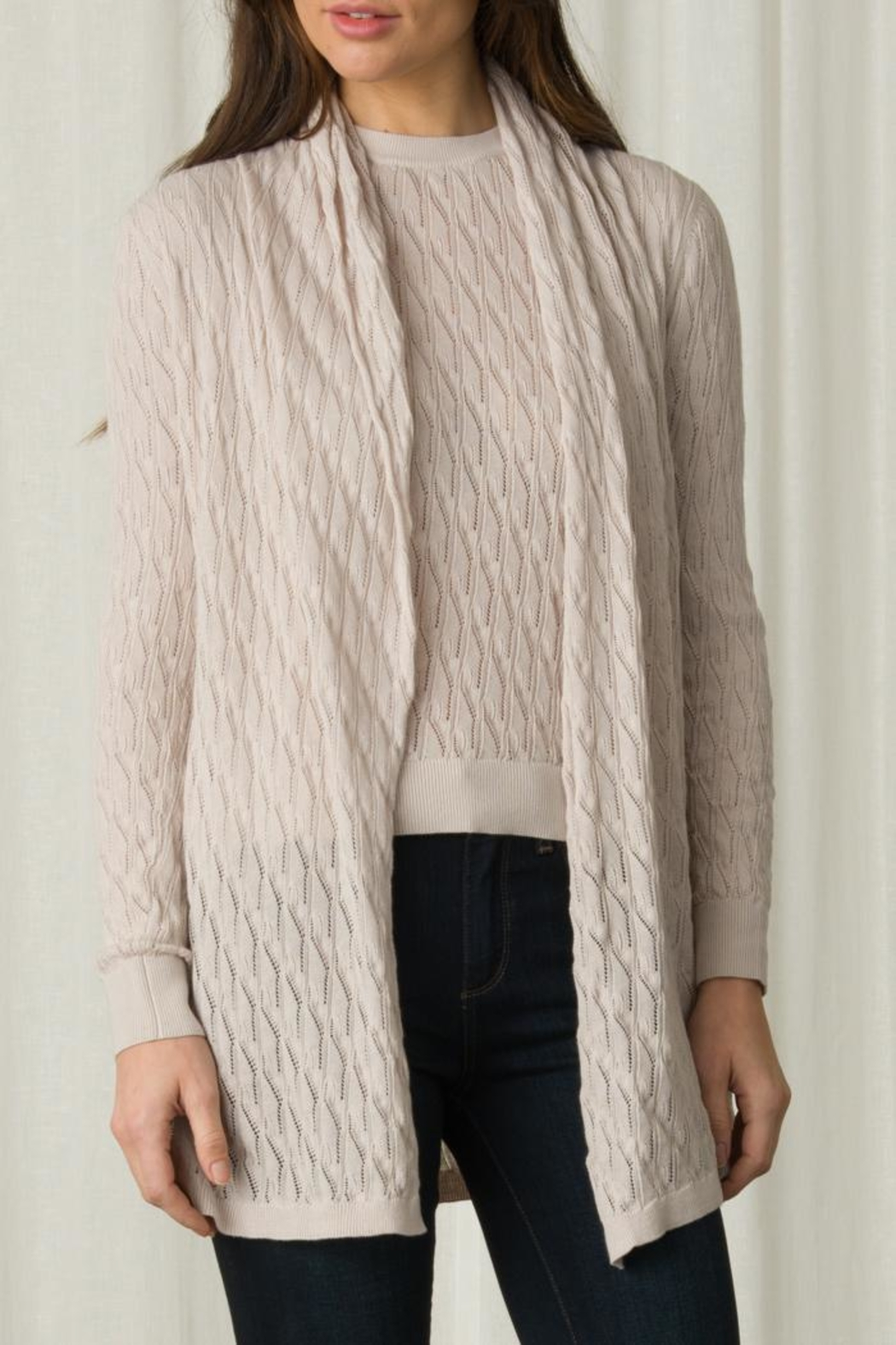 Margaret O'Leary Lace Stitch Duster - Main Image